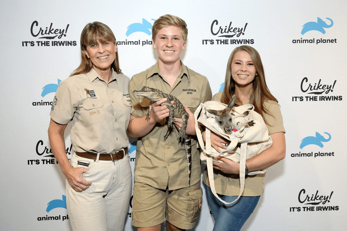 The Irwin family continues Steve's work by saving over 90,000 animals including many injured in Australia wildfires.