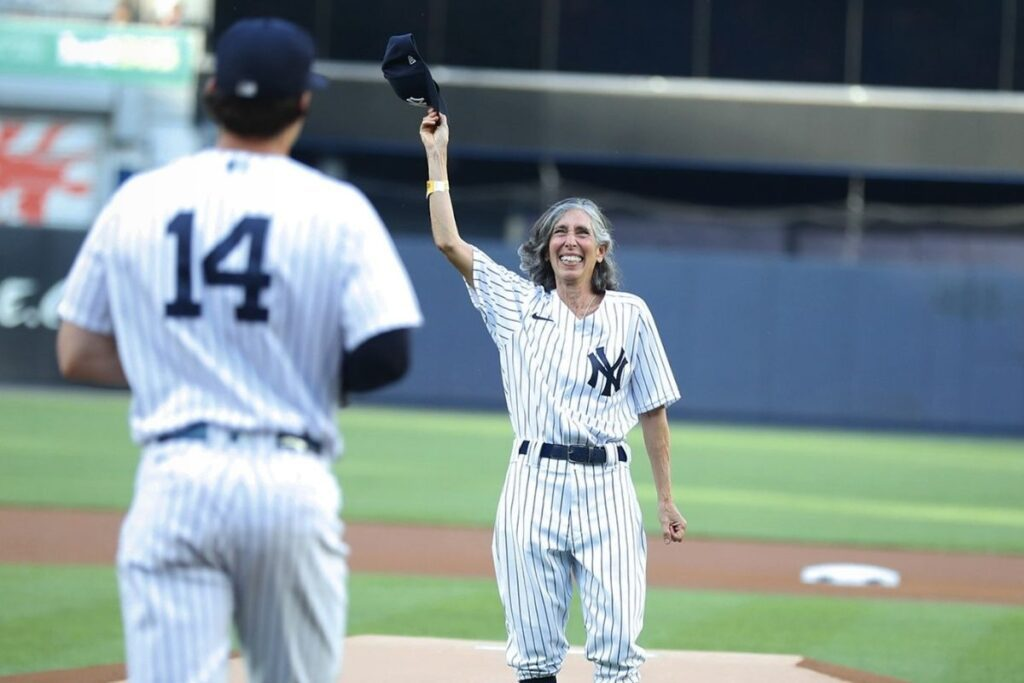 70-year-old woman lives dream of becoming Yankees Bat Girl 60 years after getting rejected for being a girl.