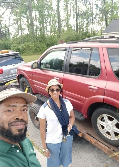 South Carolina restaurant owner spends free time fixing old cars and then donates them to people in need.