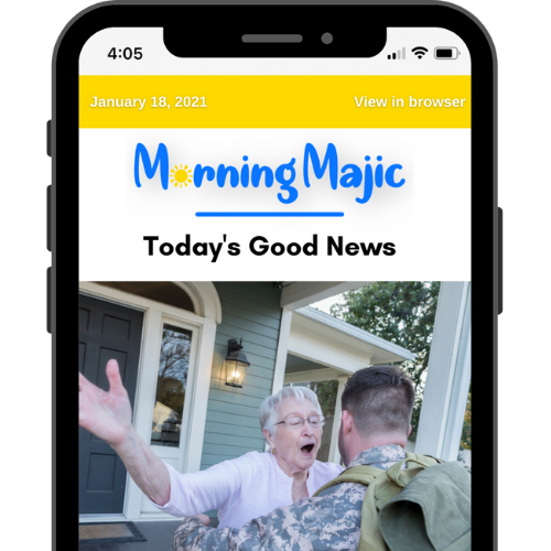 Morning Majic - Daily Good News